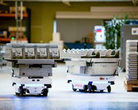 MiR mobile robots ensure flexibility during Kamstrup's growth