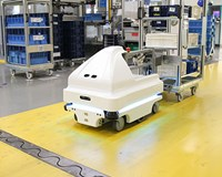 NIDEC GPM strengthens innovative capacity thanks to mobile robots