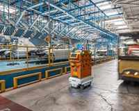 MiR robots help FORD Spain optimize intra-logistics in its Car Body & Stamping plant