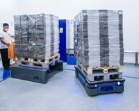 Five MiR500 AMRs Boost Warehouse Logistics for Novo Nordisk's Pharmaceutical Plant in China