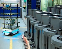 Mobile Robot Relieves Half a Full-Time Position